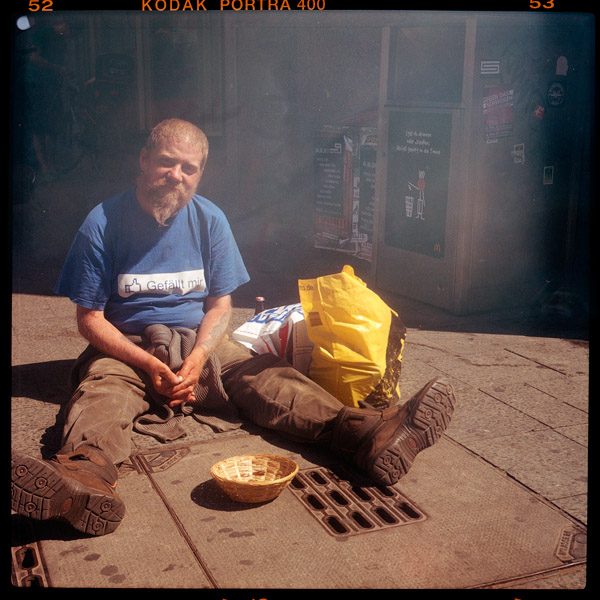 olaf, obdachlos, 42 - Pieces of Berlin - Collection - Blog