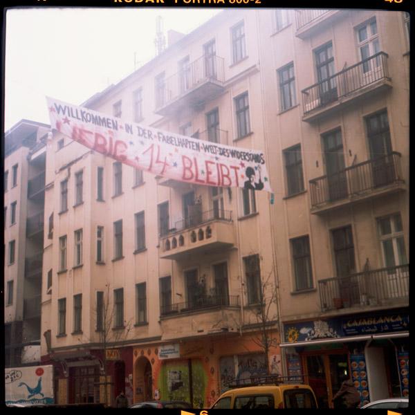 solidarity, rigaerstraße, l14, friedrichshain, c-print - Pieces of Berlin - Book and Blog
