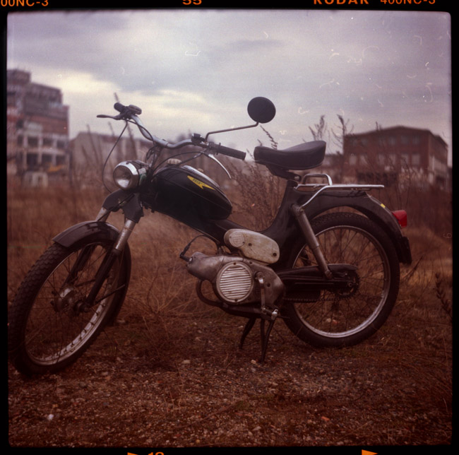 puch, moped, stralau, berlin, puch ms50