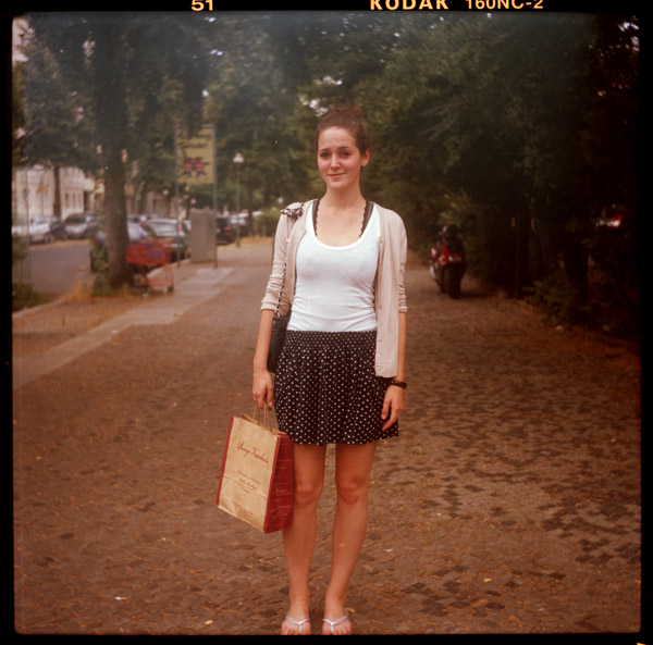 studentIn, portrait, nicky, charlottenburg, berlin, 20 - Pieces of Berlin - Book and Blog