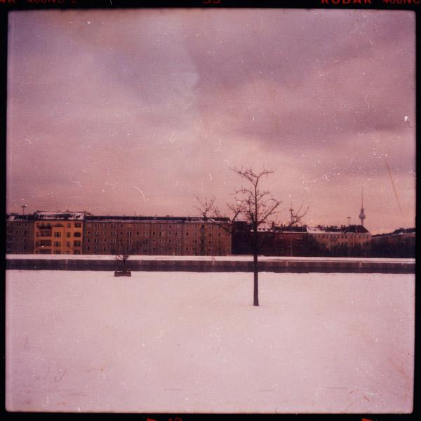 berlin, friedrichshain, winter