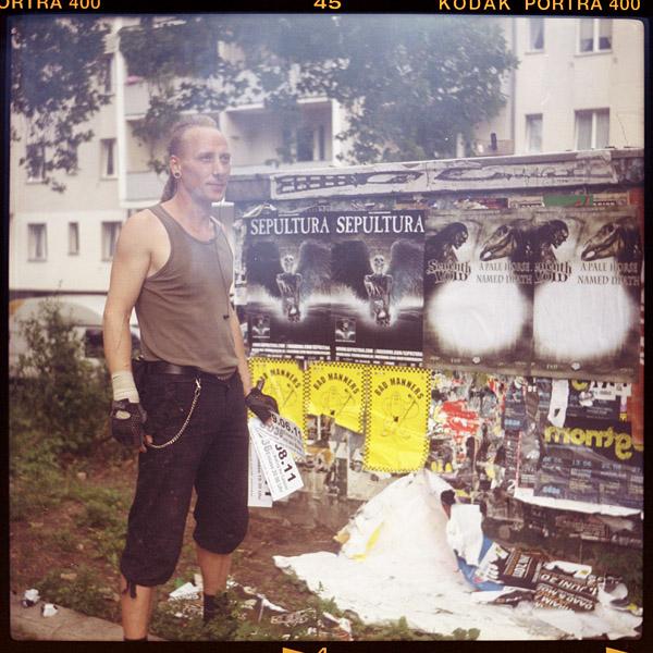 rolex, plakatekleberIn, 41 - Pieces of Berlin - Book and Blog