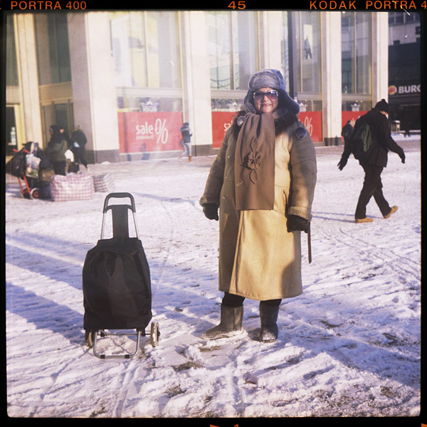 rentnerIn, katrin, 60 - Pieces of Berlin - Book and Blog