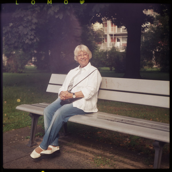 tiergarten, rentnerIn, renate, portrait, berlin, 66 - Pieces of Berlin - Book and Blog
