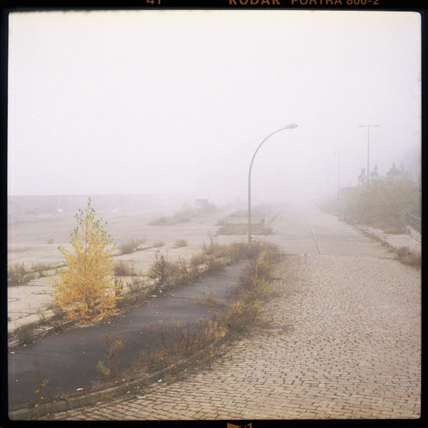 berlin, elsenbrücke, nebel