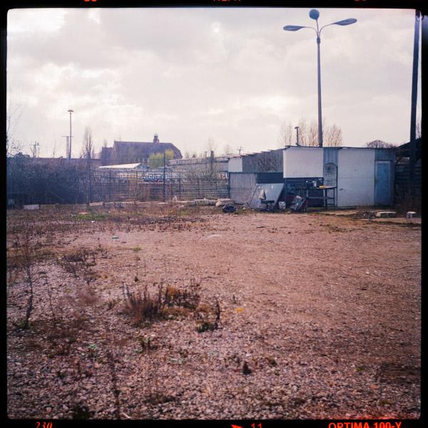 wasteland, revalerstraße, print, friedrichshain, berlin - Pieces of Berlin - Book and Blog