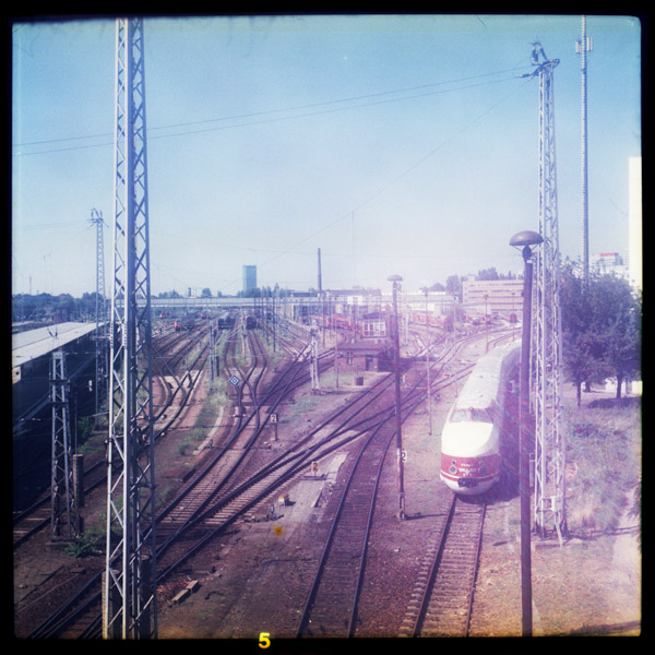 train, lichtenberg, berlin - Pieces of Berlin - Book and Blog