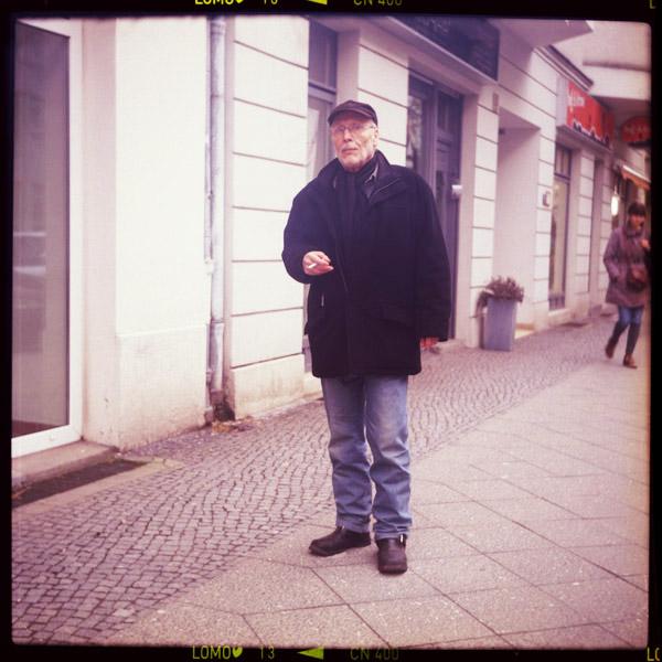 taxifahrerIn, rentnerIn, jürgen, bürgermeister, alt-moabit, 78 - Pieces of Berlin - Book and Blog