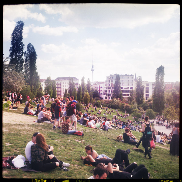 mauerpark, berlin - Pieces of Berlin - Book and Blog