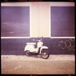 stralau, ride, puch, moped, c-print, bilder, berlin - Pieces of Berlin - Book and Blog