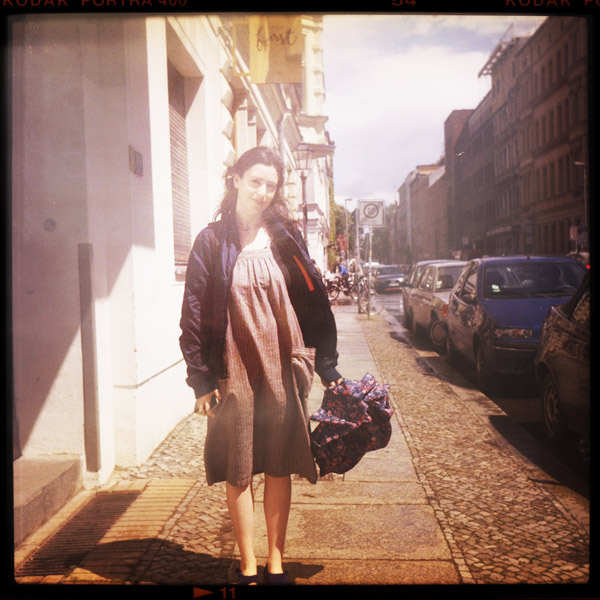 portrait, nora, new york, berlin, 21 - Pieces of Berlin - Book and Blog