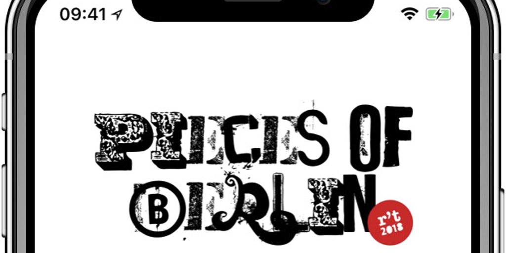 Pieces of Berlin AR App for Revela-t Festival 2018