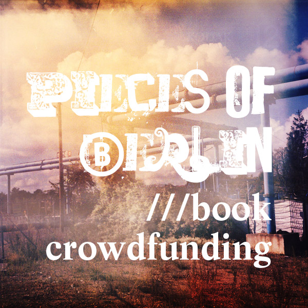 Crowdfunding, book, berlin - Pieces of Berlin - Book and Blog