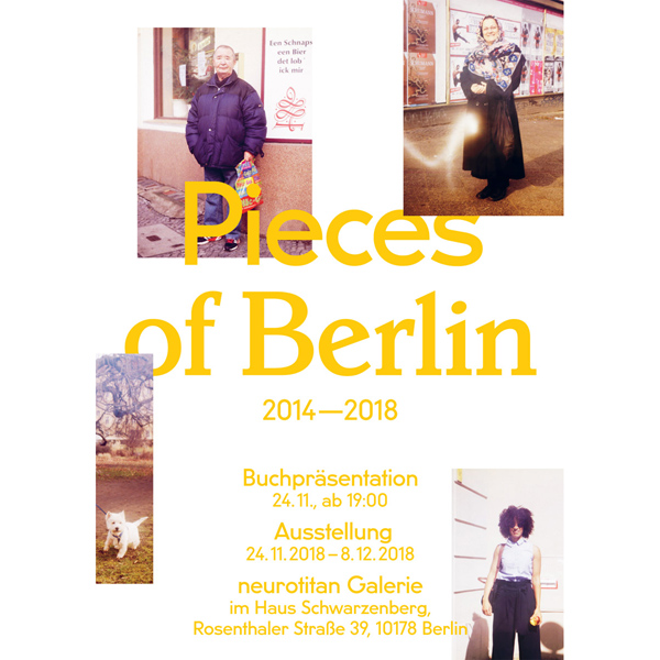release, presentation, neurotitan, exhibition, book, berlin - Pieces of Berlin - Book and Blog