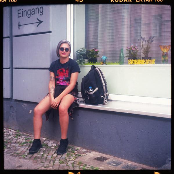 mira, künstlerIn, berlin, bagdad, 35 - Pieces of Berlin - Book and Blog