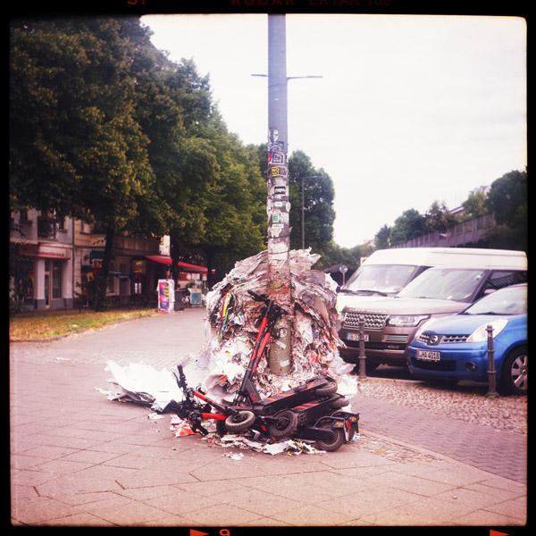 kreuzberg, escooter, berlin - Pieces of Berlin - Book and Blog