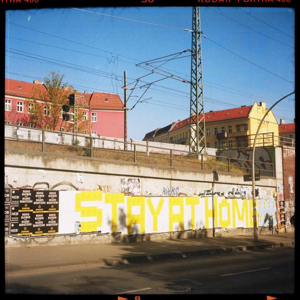 streetart, friedrichshain, corona, berlin - Pieces of Berlin - Book and Blog