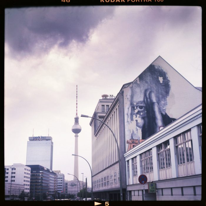 print, prenzlauer allee, mitte, limited edition, fernsehturm, berlin - Pieces of Berlin - Book and Blog