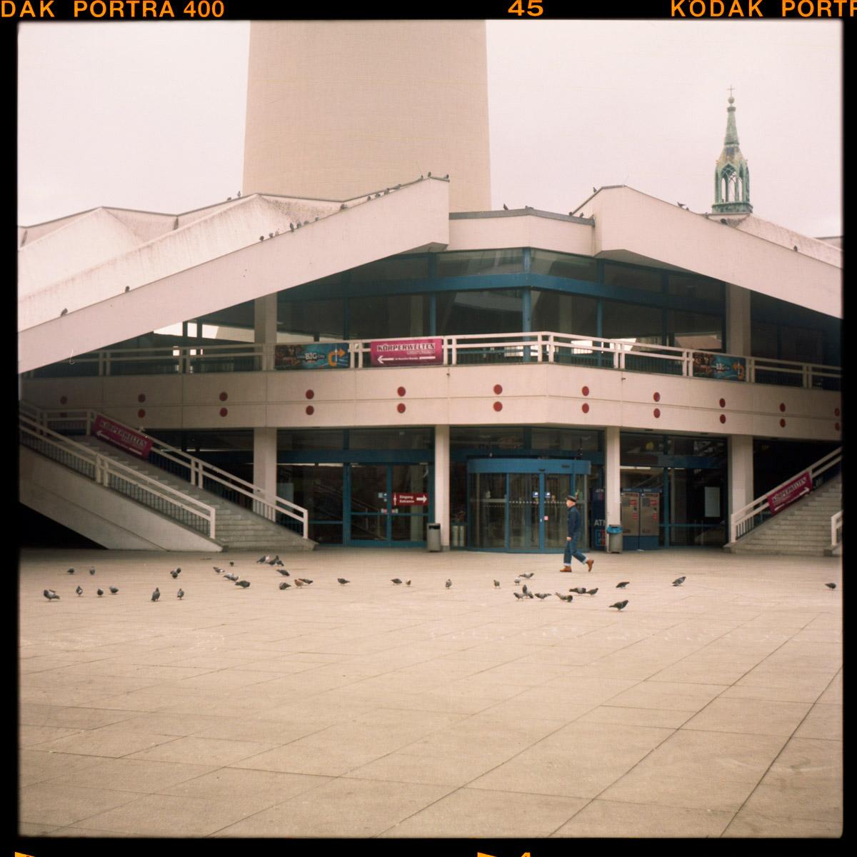 Berlin, Alexanderplatz, Fernsehturm, Corona, Lockdown, Abandoned, 2021